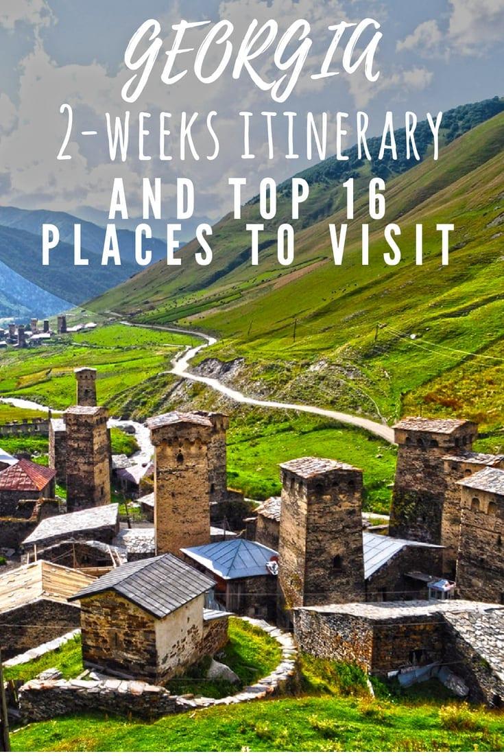 things to do georgia itinerary