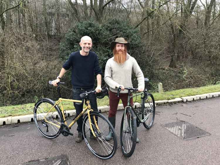 Stanforth bikes Sean Conway world record