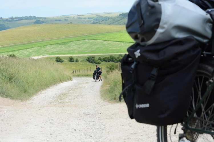 inghilterra in bici