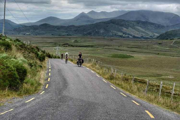 ring of kerry bike touring