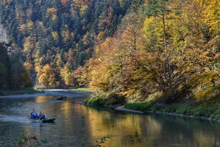 dunajec river gorge rafting