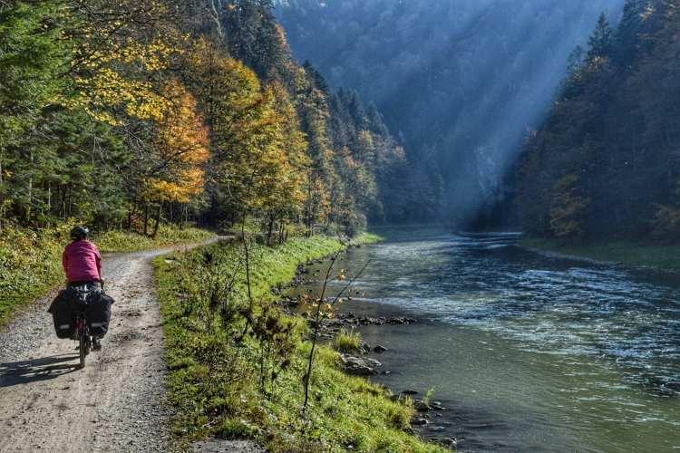 fiume dunajec cicloturismo