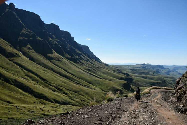 Drakensberg cycling
