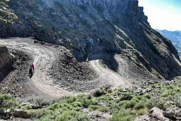 Sani Pass drive
