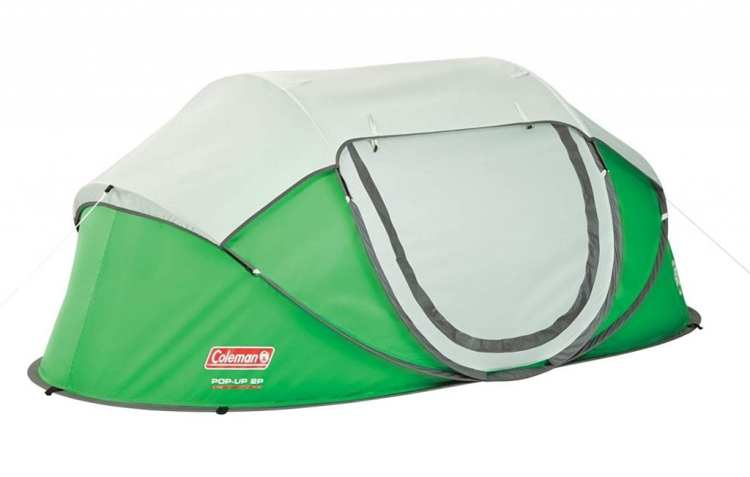 coleman pop up tent 2 person