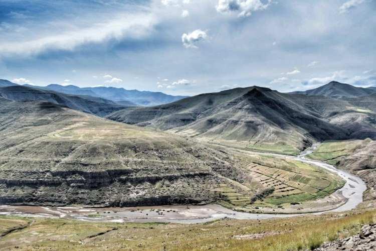 Senqu River Lesotho