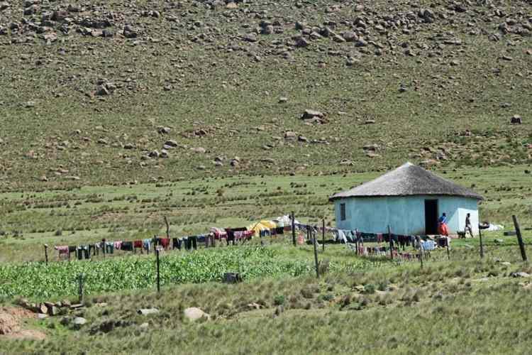 Nonesi Xhosa traditional house
