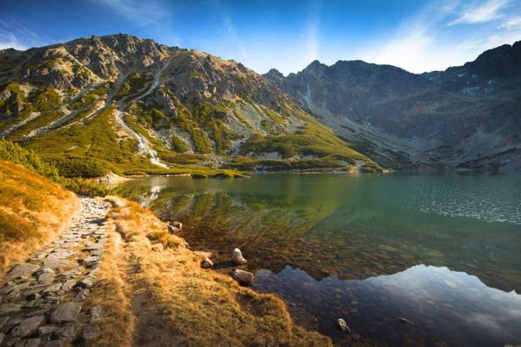Hiking Poland High Tatras Zawarat