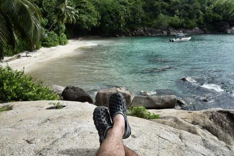 Anse Major Spiaggia