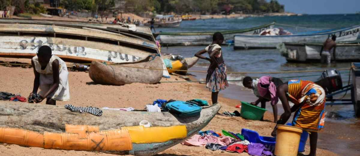 backpacking cape maclear beach Malawi