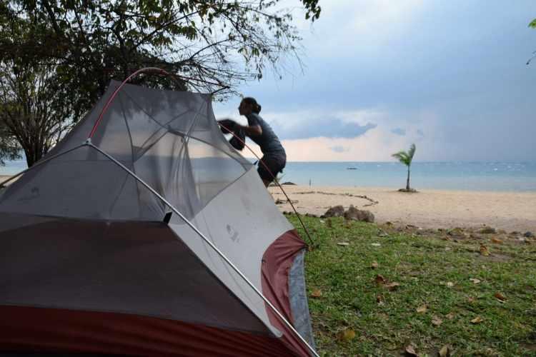 camping in Malawi