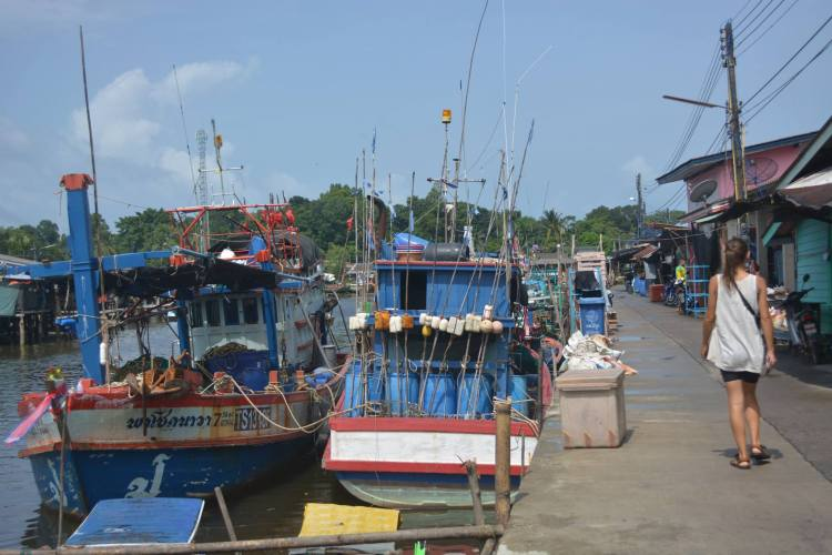 Trat fishing village