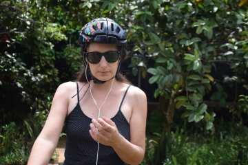 wirless bluetooth cycling earphones