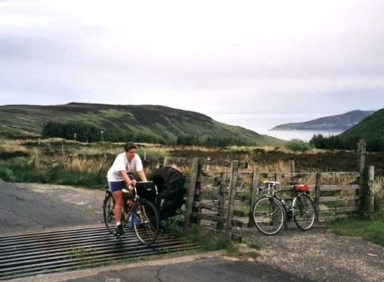 cycling destinations UK Arran