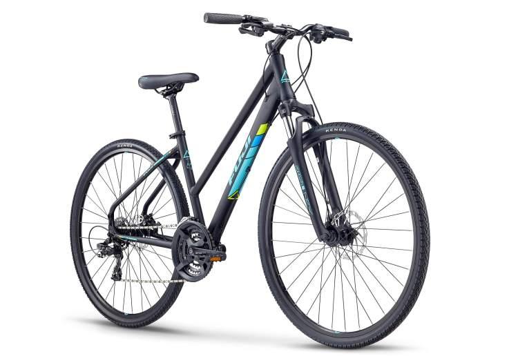 bici donna ibrida trekking economica