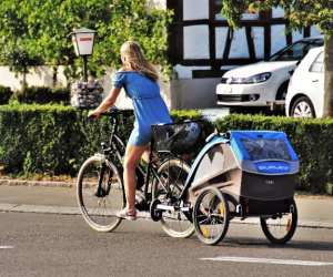 best kids bike trailer