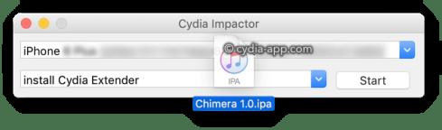 تحميل التطبيق الوهم cydia impactor_app