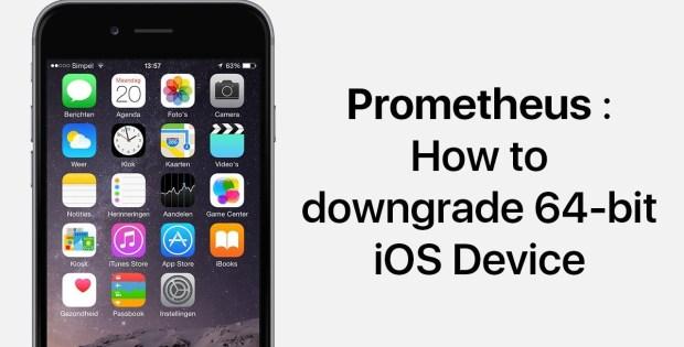 nâng cấp/hạ cấp các phiên bản iOS