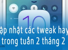 tweak hay cho iOS 10