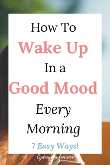 how to have a positive morning