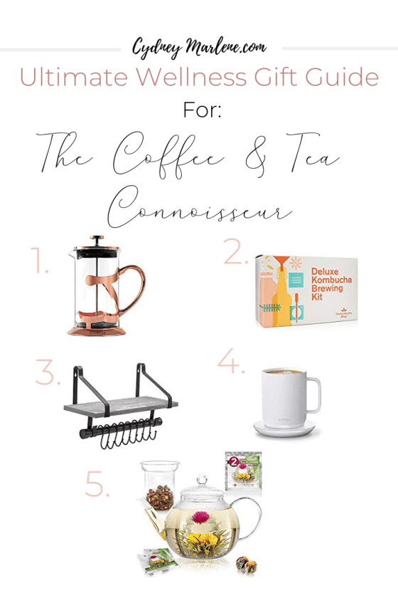 gift guide for the coffee and tea connoisseur