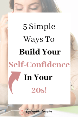 5 ways to build your self-confidence