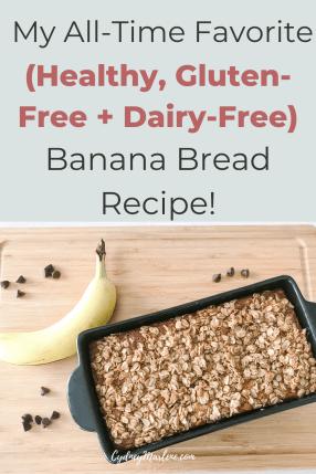 my healthy banana bread recipe