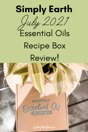 Simply Earth Essential Oils July 2021