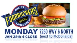 Cheer Spirit Night at Fuddruckers