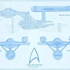 Star Trek Captain S Chair Plans Cute As A Button Blueprints Uss Enterprise 15mm Fasa Deck