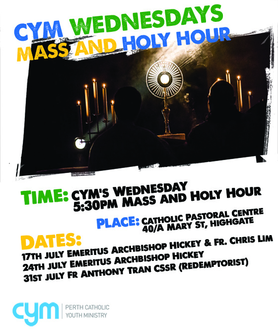 Poster - CYM Mass HH during WYD
