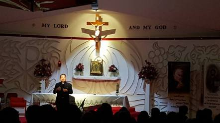 """""""My Lord and my God"""" Fr. Leo 2016"""