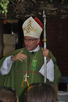 Archbishop Costelloe talking about God January 24 2017