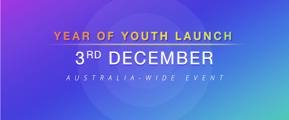 Year of Youth launch on Dec 3