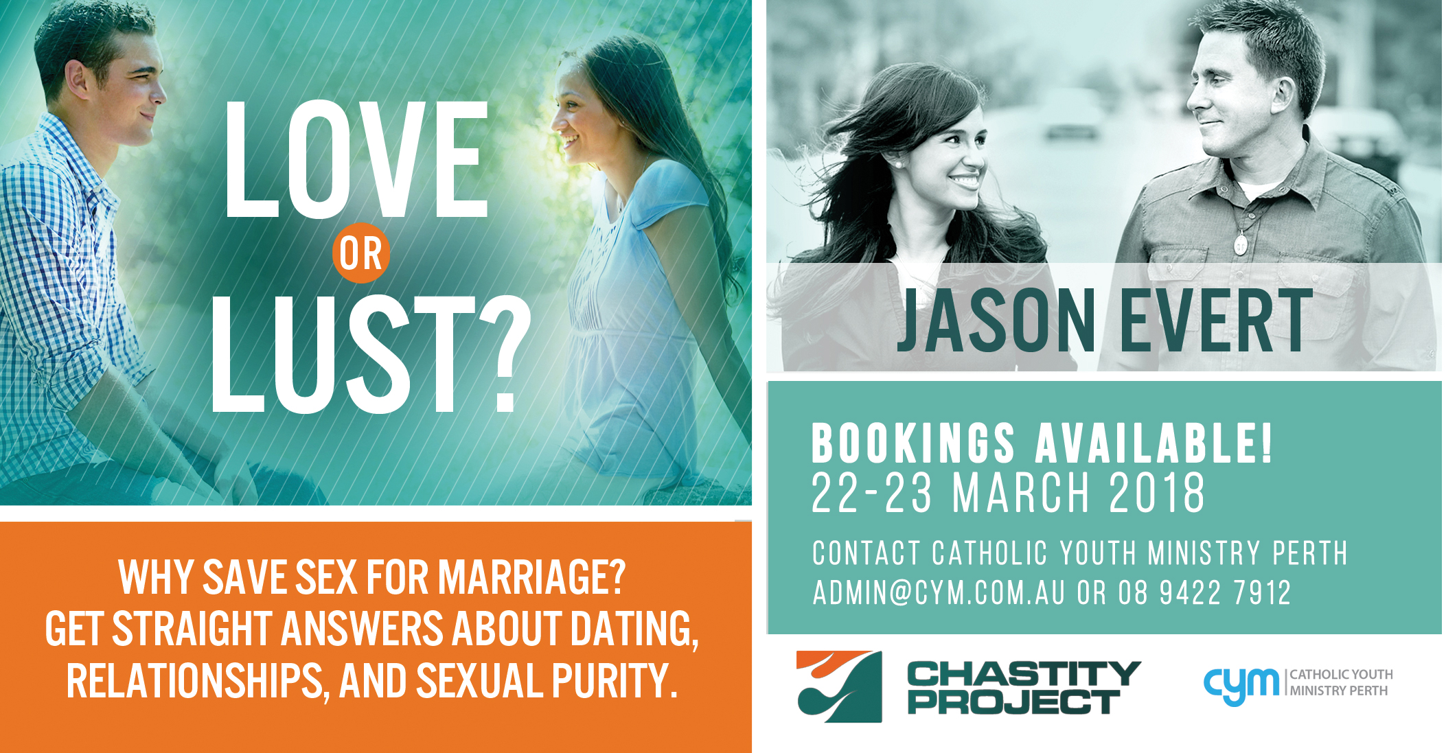 Love or Lust featuring Jason Evert from USA