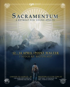 2019 Young Adults Retreat Poster Final