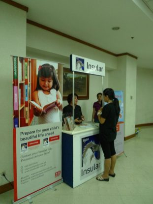 Insular Life booth
