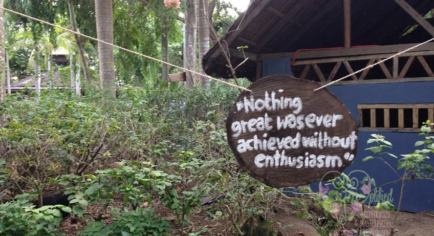 quote at the fun farm