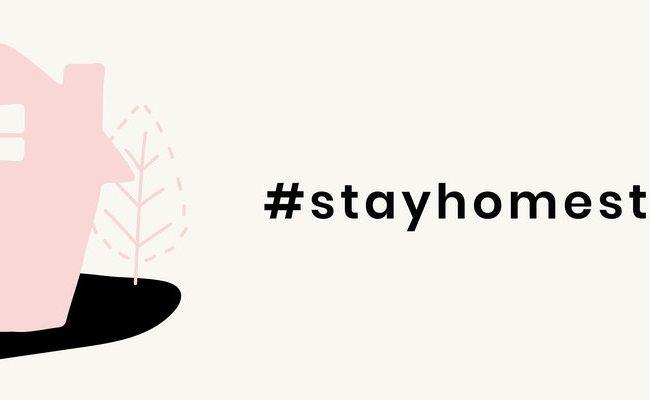 #stayhomestaysafe at your quarantine scene