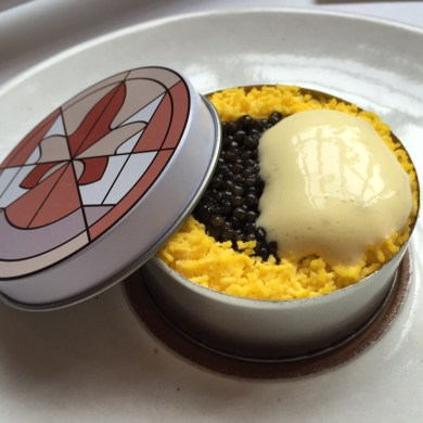 Eleven Madison Park - Caviar Benedict