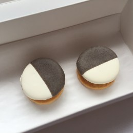 Eleven Madison Park - Savory black and white cookie