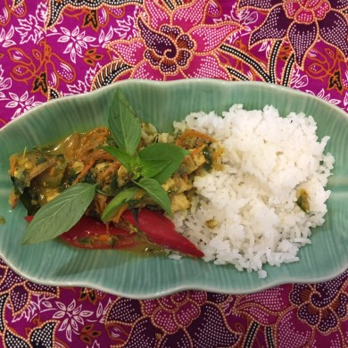 Silom Thai Cooking School - Green Curry