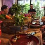 Silom Thai Cooking School - our instructor
