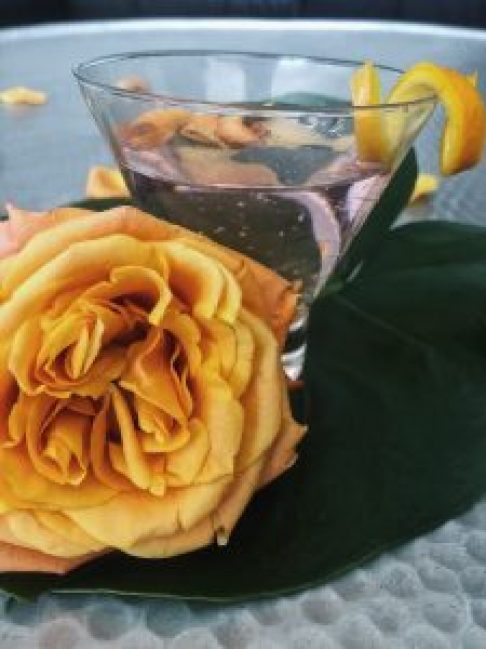 Rosewater and Orange Gin & Tonic , cyntra, cyntra charlesworth, cyncity