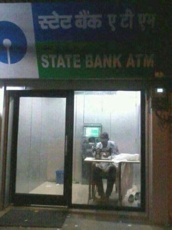 ATM/Tailors shop