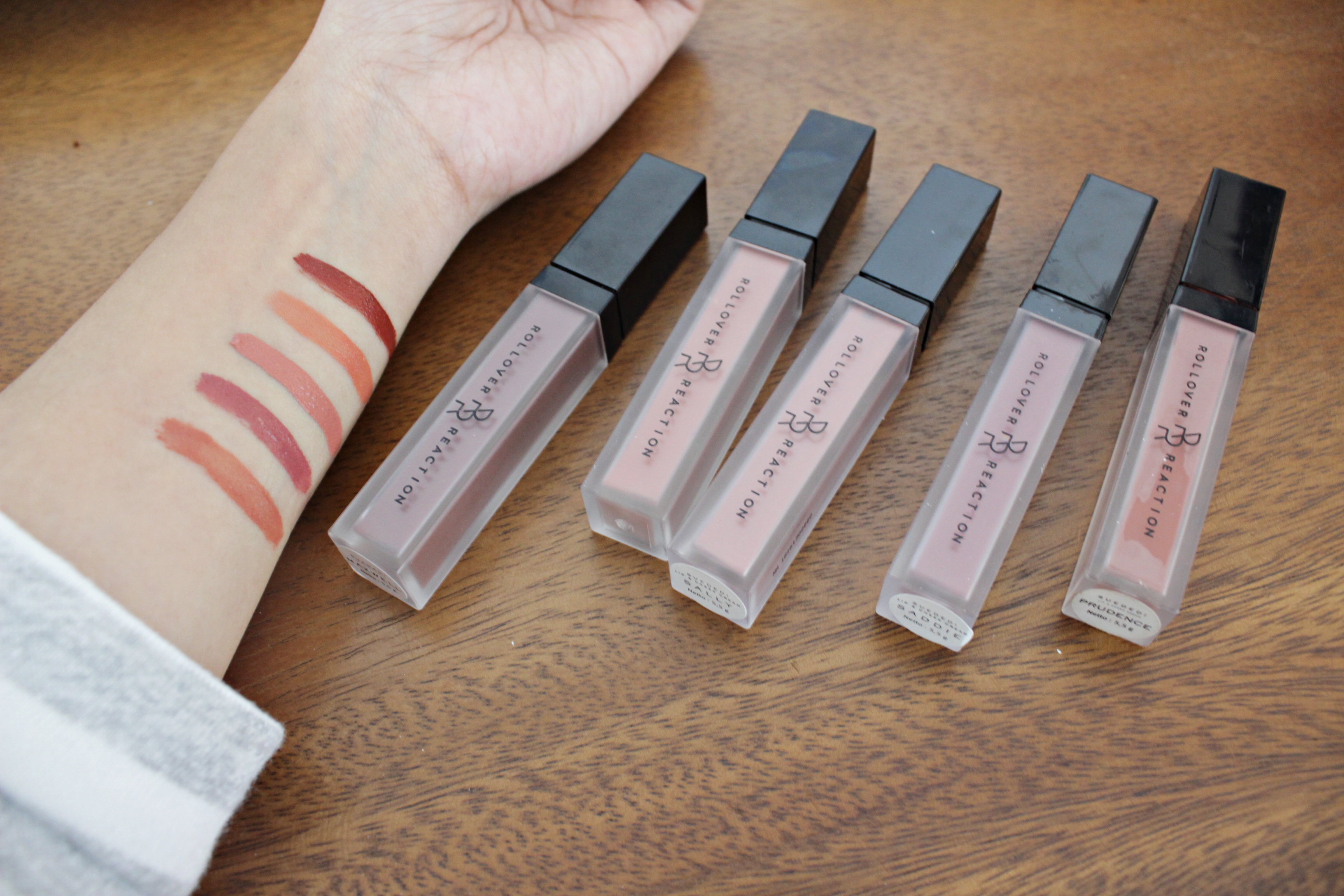 Rollover Reaction 5 Swatches REVIEW