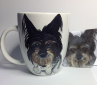 Dog Portrait Coffee Mug