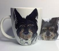 Dog Portrait Coffee Mug