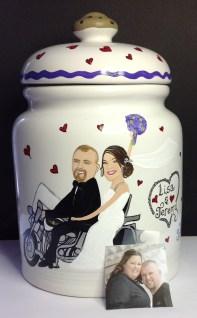 Wedding Cookie Jars