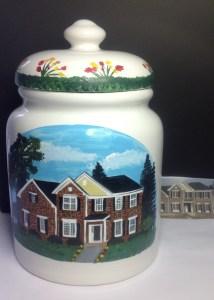 Custom Painted Cookie Jars